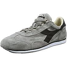 Sneakers Diadora Heritage Hombre Gamuza Gris y Negro 15655201c3362 Gris 43EU