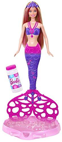 Barbie Mattel CFF49 - Seifenblasen-Meerjungfrau (Barbie-wasser-spiel-puppe)