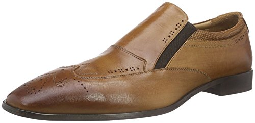 Hemsted & Sons Loafer Braun