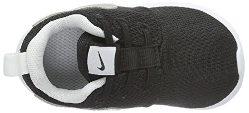 Nike Roshe One (Tdv), Scarpe Walking Baby Bambino Nero (Black/Metallic Silver/White/White)