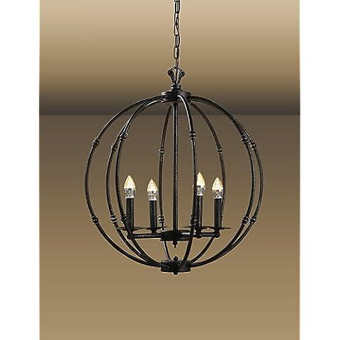 Prodotti ZSQ lampada retrò stile Mini pittura pendente in metallo LightsLiving Room / Sala da pranzo / Sala di studio/camera per bambini / entrata / Corridoio , 220-240v #1467