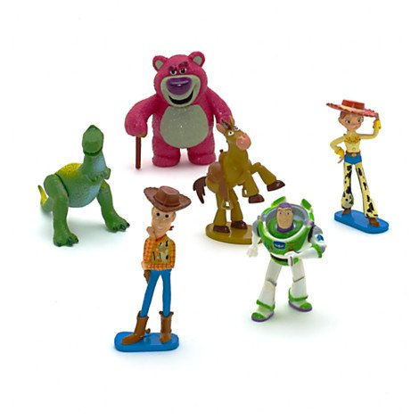 DISNEY TOY STORY 3 HEDEN WOODY JESSIE FIGUREN SET Toy Story-woody