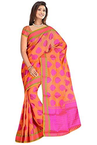 Multicolour resham woven cotton silk sarees