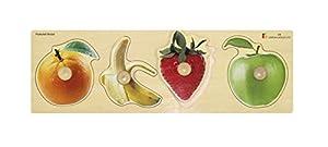 Doron Layeled Puzle de Madera de Perchero Gigante con diseño de Frutas, de la Marca