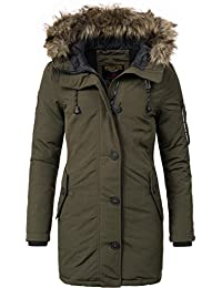 Khujo Damen Mantel Wintermantel Winterparka YM-Mary 3 Farben XS-XXL