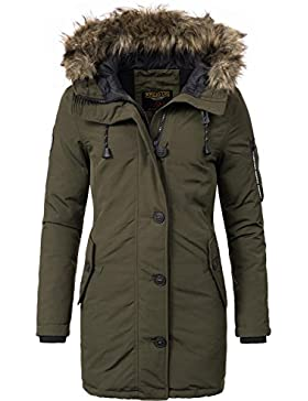 Khujo YM-Mary – Parka de mujer, 3colores, XS–XXL
