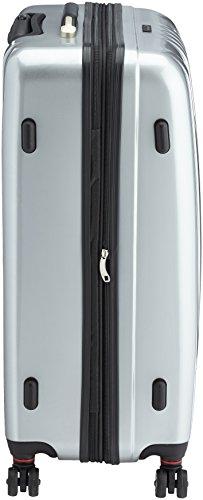 Packenger Premium Koffer 3 er-Set Stone M/L/XL, 78 cm, 68 Liter, Silber - 4