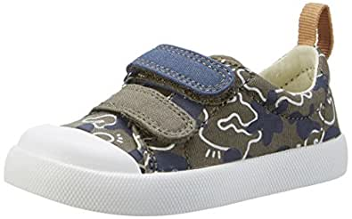 Clarks Halcy High Fst Baby Boys Walking Baby Shoes