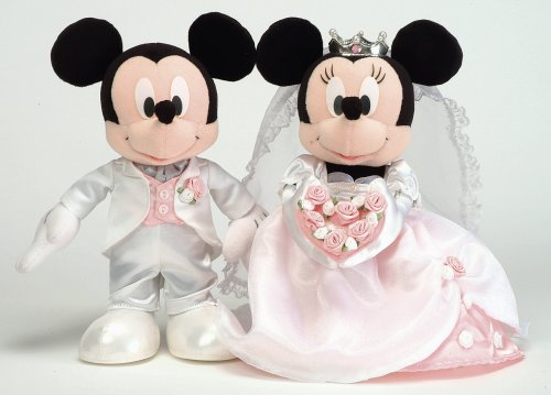 Novia ratón Mickey u0026Minnie Mouse (M)