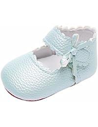 2018 Nueva Primavera Verano Zolimx �� Bebé Recién Nacido Niñas Bowknot Zapatos de Suela Suave Zapatos Bebe Niña