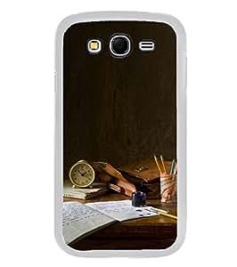 YuBingo Samsung Galaxy Grand Max G720 2D Designer Phone Back Case Cover ( Study table )