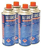 Pack of four gas canisters