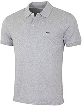 Lacoste DH2050 Klassisches Herren Basic Polo, Polohemd, Polo-Shirt, Kurzarm, Regular Fit, 100% Baumwolle
