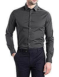 STYLETHIC Cotton Fabric Full Sleeves Formal Shirts for Mens & Boys