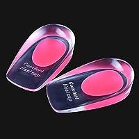 AOLVO Plantarfasziitis fügt Einlegesohlen High Heel Pads Gel Schuh fügt Ferse Tassen für Entlastung Bildschirmschutzfolien... preisvergleich bei billige-tabletten.eu