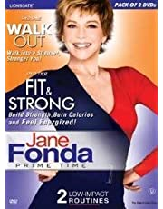 Jane Fonda (Set of 2 Dvd - Walk Out/Fit and Strong)