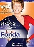 Jane Fonda (Set of 2 Dvd - Walk Out/Fit ...