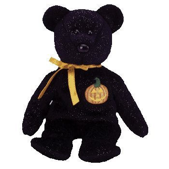 "Ty Beanie Baby - Haunt the Bear - 15cm 6"""