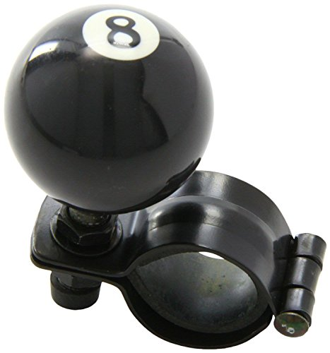 Van Steering Aid Number 8 Pool Ball One Hand Knob Disability Spinner Assister Spinner Knob