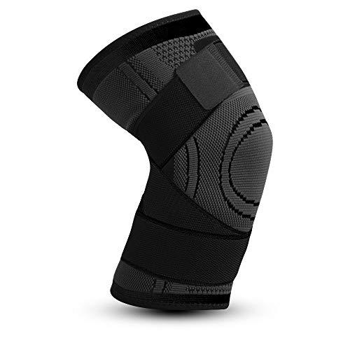 WXQQ SportKniebandage Für Damen & Männer Zum Schutz Von Meniskus & Knie, Ringförmiges Funktionspolster Für Mehr Stabilität