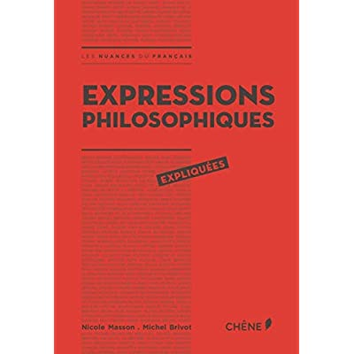 Expressions philosophiques expliquées