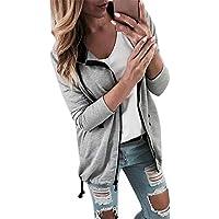 RWINDG Mode Frauen Verband Langarm Damen Übergangsjacke Windbreaker Jacke Kapuzenjacke Colorblock Sweatshirt Mantel... preisvergleich bei billige-tabletten.eu