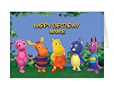 THE BACKYARDIGANS personalised birthday card