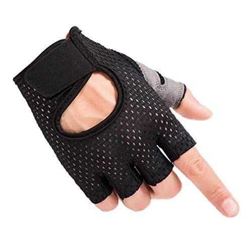 Guanti palestra, guanti fitness per calisthenics allenamento/bodybuilding / manubrio/sollevamento pesi/arrampicata e sport all'aria aperta, antiscivolo resistente all'usura unisex guanti