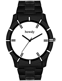 Howdy Men Stainless Steel Chain Watch (howdy-672)
