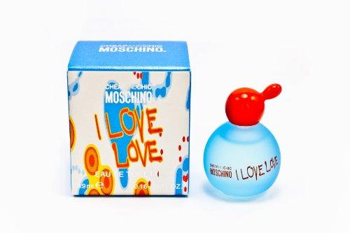 Moschino cheap & chic i love love eau de toilette 4.9ml mini