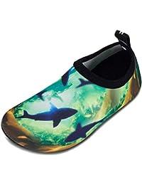 Calcetines de Piscina de Secado rápido Antideslizantes para niños y niñas Surf Yoga jardín niños Descalzos Zapatos de Playa o Zapatos para Deportes acuáticos