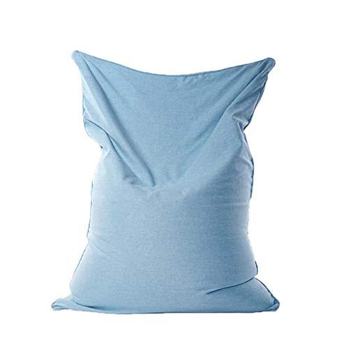 Canapés Pouf Poire Le Sofa Lavable Portatif De Bébé De Chaise De Câlin De Sacs De Haricot Badine des Meubles De Chambre À Coucher (Color : Blue, Size : 62.99 * 51.18in)