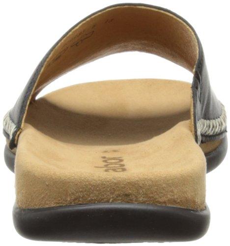 Gabor Shoes 6370527, Sandali donna Nero (Schwarz (schwarz))