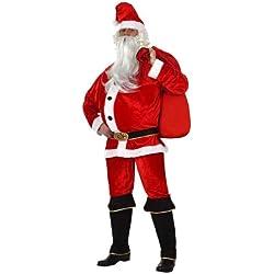 Atosa - Disfraz de Papá Noel para hombre, talla 50 - 52 (8422259121626)