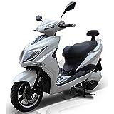 E-Scooter Elektroroller E-Roller Elektro Roller mit Straßenzulassung 45 km/h 60 Kilometer Reichweite, Weiß