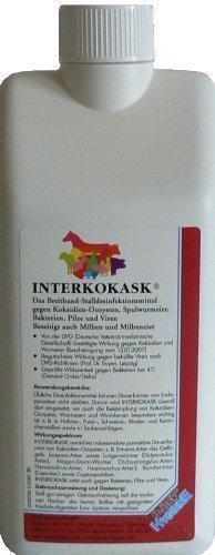 INTERKOKASK 1 Liter - Breitband-Stalldesinfektionsmittel - Breitband-geräte