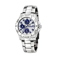 FESTINA Sport 16242/1 - Reloj unisex de cuarzo, correa de acero inoxidable color plata de FESTINA