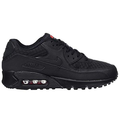 Nike Air Max 90 537384, Herren Sneakers Training, Schwarz