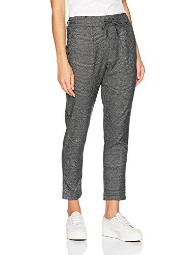 ONLY Damen Hose Onlpoptrash Wvn Check Pant Pnt Noos, Schwarz (Black), 34/L34 (Herstellergröße: XS) (Jeans-print-stoff)