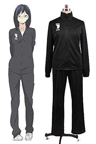 Haiky?!! Kiyoko Shimizu Karasuno High School Uniform Cosplay Kostüm (Haikyuu Cosplay Kostüm)