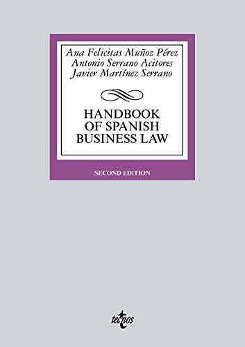 Portada del libro Handbook of Spanish Business Law (Derecho - Biblioteca Universitaria De Editorial Tecnos)