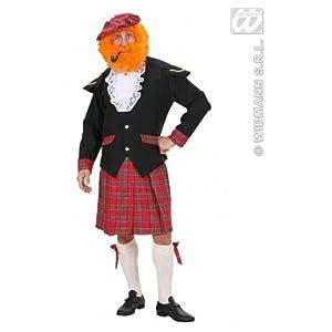 WIDMANN wdm73902?Disfraz para adulto hombre Escocia, multicolor, M