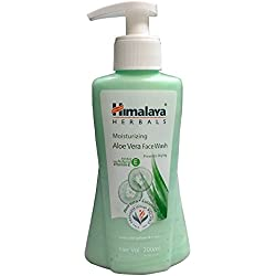 Himalaya Moisturizing Aloe Vera Face Wash, 200ml