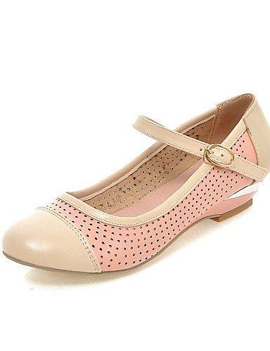 ShangYi Scarpe Donna - Mocassini - Casual - Zeppe - Zeppa - Finta pelle - Blu / Rosa / Bianco Pink