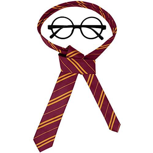 41JRb%2Bd7KAL - Accesorios de Halloween novedosas gafas y corbata, ideales como regalo de Navidad