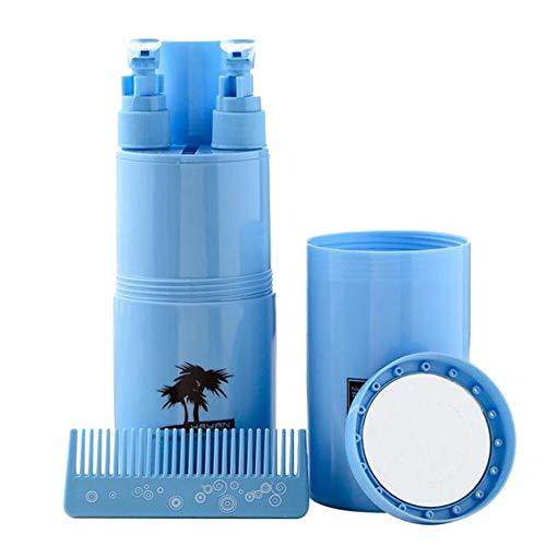 navigatee Travel Cup , 5PCS Reise-Waschbecher-Set Tragbare Zahnpasta-Box Reise-Waschbecher-Set Reise-Zahnputzbecher-Set (Reisen Größe Toilettenartikel Zahnpasta)