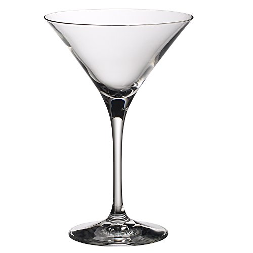 Villeroy & Boch Purismo Bar Martiniglas, 2er-Set, 240 ml, Kristallglas, Klar