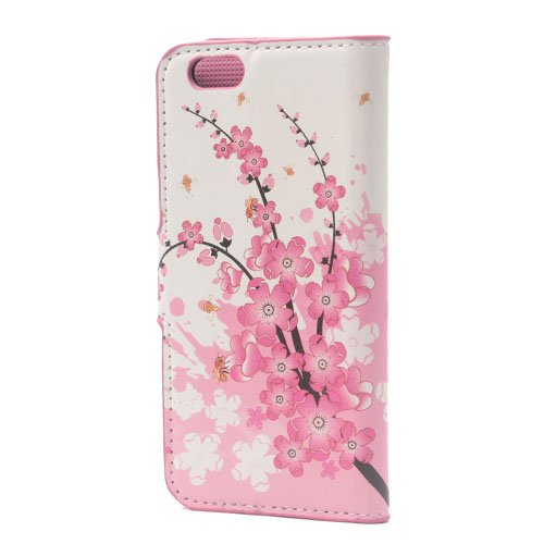 iPhone 6/6S Plus Coque,COOLKE Flip Coque Fashion Painted Pattern Cover de Etui Housse de Protection Étui à rabat Case pour Apple iPhone 6/6S Plus (5.5 inches) - 009 007