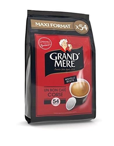 Grand-Mère Dosettes Café - Corsé - 162 Dosettes...