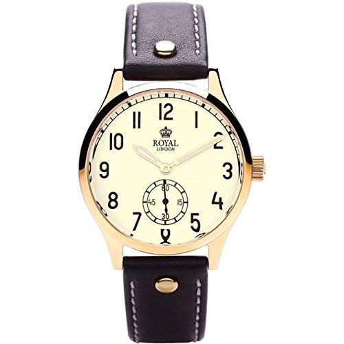 Royal London 41109-02 - Reloj para hombres, correa de cuero